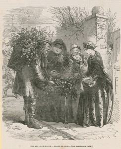 Hablot_Knight_(1815_92)_(after)_Browne_-_The_mistletoe_seller_(engraving)_-_(MeisterDrucke-1060880)